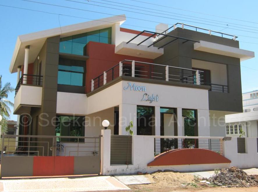 Residential building elevation photos homedesignpictures for Best elevations residential buildings
